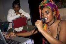 COLORED GIRL & UHURA MOOR @KAOS NETWORK