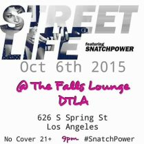 SNATCHPOWER @ THE FALLS LOUNGE | 10.15